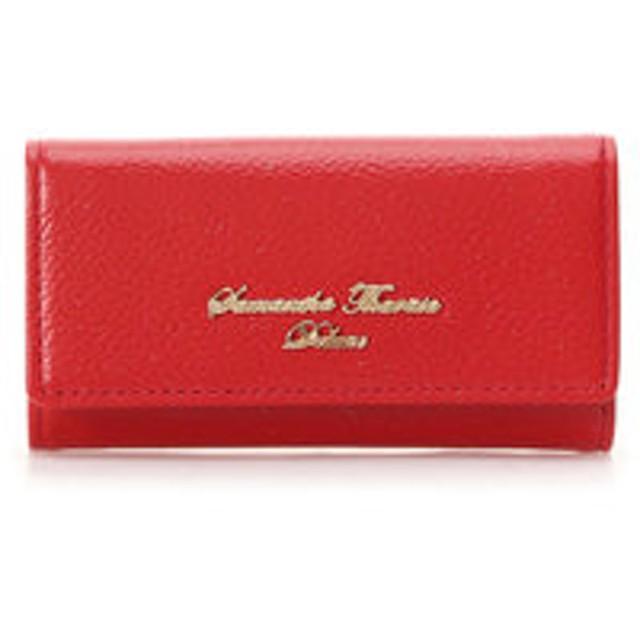 【Samantha Thavasa Deluxe:財布/小物】シンプルラメキーケース