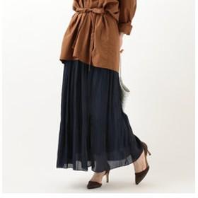 【SHIPS:スカート】プラチナムカッセンスカート