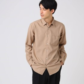 tk.TAKEO KIKUCHI(ティーケー タケオキクチ:メンズ)/THERMO LITE 起毛無地シャツ