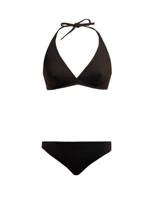 Eres - Gang Scarlett Halterneck Bikini - Womens - Black