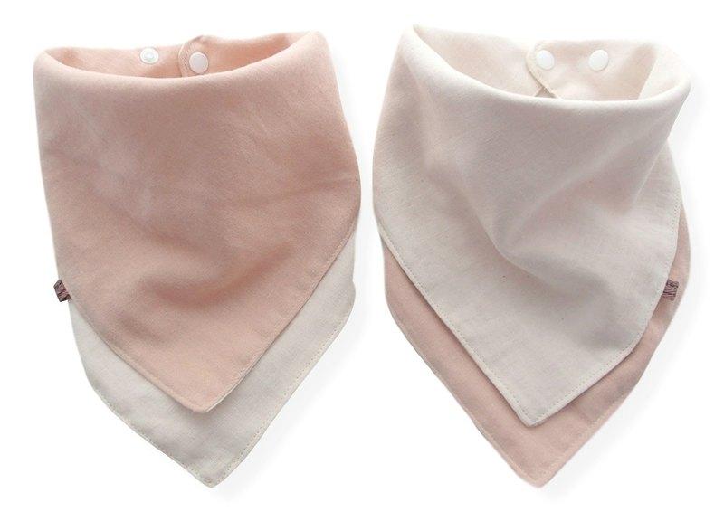 嬰兒圍兜,口水巾,可逆嬰兒圍巾頭巾圍兜,手帕,日本棉