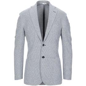 《セール開催中》SARTORIO メンズ テーラードジャケット ブルー 48 コットン 92% / ナイロン 7% / ポリウレタン 1%