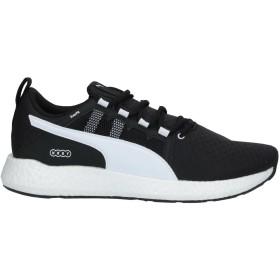 《セール開催中》PUMA メンズ スニーカー&テニスシューズ(ローカット) ブラック 7.5 指定外繊維 / 紡績繊維