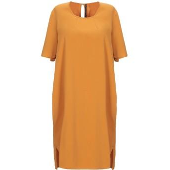 《セール開催中》MANILA GRACE レディース ミニワンピース&ドレス オークル 38 ポリエステル 98% / ポリウレタン 2%