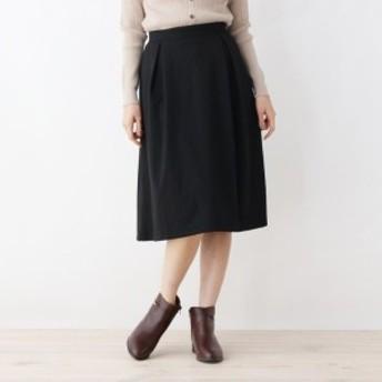 グローブ(grove)/【LLあり】ポンチ裏起毛スカート