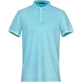 《期間限定セール開催中!》DIMATTIA メンズ ポロシャツ スカイブルー XL コットン 95% / ポリウレタン 5%