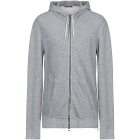 《セール開催中》BALMAIN メンズ スウェットシャツ ライトグレー XL コットン 92% / レーヨン 8%
