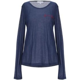 《セール開催中》MAISON LABICHE レディース T シャツ ブルー L レーヨン 80% / カシミヤ 10% / シルク 10%