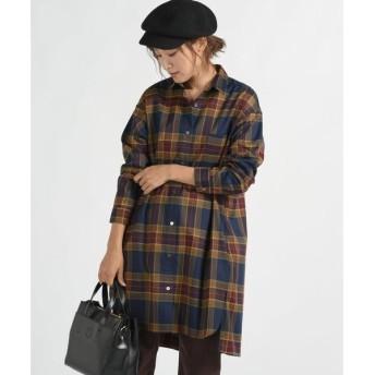 MAYSON GREY / メイソングレイ ビッグチェックチュニックシャツ