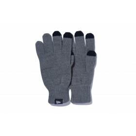 NEW ERA ニューエラ イータッチ ニットグローブ 杢ミディアムグレー 手袋 アクセサリ メンズ レディース フリーサイズ 11321607 NEWERA