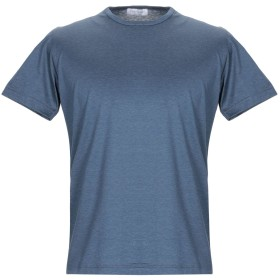 《セール開催中》GRAN SASSO メンズ T シャツ ブルーグレー 46 コットン 100%