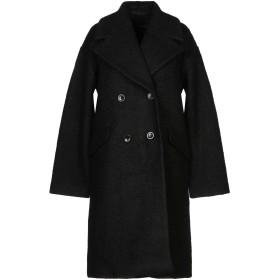 《セール開催中》Y.A.S. レディース コート ブラック S ポリエステル 50% / ウール 50%