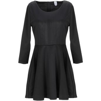 《セール開催中》LA KORE レディース ミニワンピース&ドレス ブラック S ポリエーテル 92% / ポリウレタン 8%