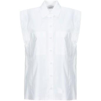 《セール開催中》ANNA RACHELE レディース シャツ ホワイト 40 コットン 100%