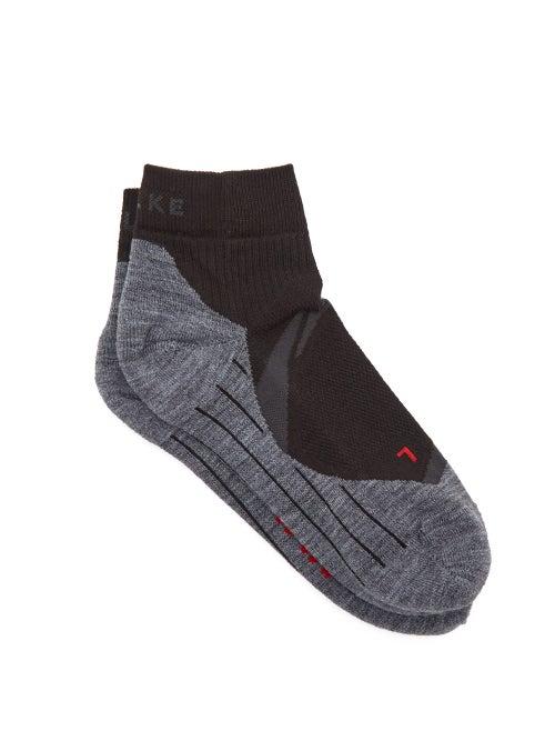 Falke - Iu4 Ankle Socks - Womens - Black Multi
