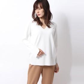 リネーム Rename 袖口スリットカットソー (ホワイト)