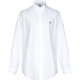 《期間限定セール開催中!》BROOKS BROTHERS メンズ シャツ ホワイト L スーピマ 100%