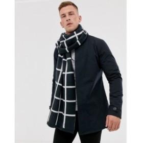 フレンチコネクション French Connection メンズ マフラー・スカーフ・ストール window check scarf