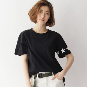 BASE CONTROL LADYS(ベースステーション:レディース)/【WEB限定】スターライン Tシャツ14505