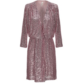 《セール開催中》SOUVENIR レディース ミニワンピース&ドレス ピンク M ポリエステル 100%
