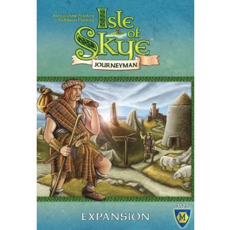 斯凱島:旅人擴充 Isle of Skye: Journeyman 英文正版 陽光桌遊商城