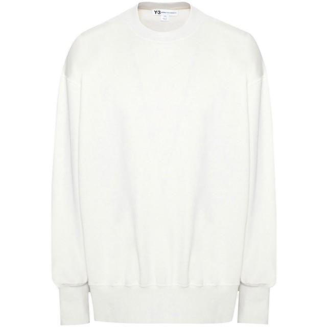 《セール開催中》Y-3 メンズ スウェットシャツ ベージュ XS コットン 100%