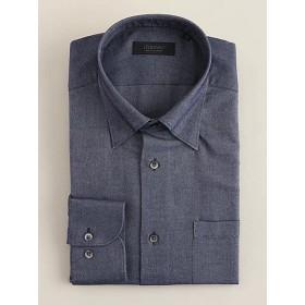 <ダーバン/DURBAN> 微起毛素材 オックス調 ドレスシャツ(1609421327) ネービー【三越・伊勢丹/公式】