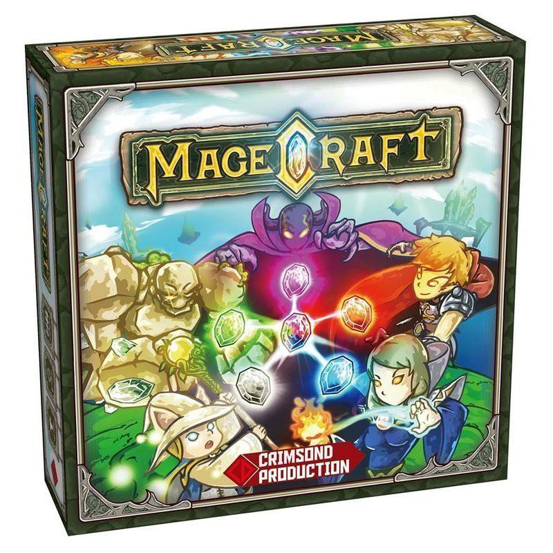 小小守護者(衝出香港) Mage Craft 英文版 陽光桌遊商城