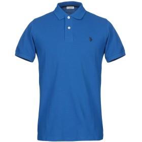《期間限定セール開催中!》U.S.POLO ASSN. メンズ ポロシャツ ブルー 4XL コットン 100%