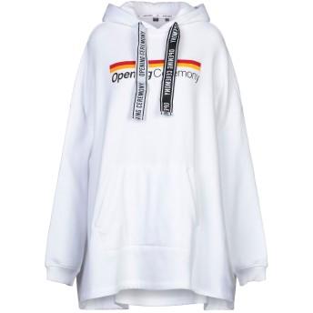 《セール開催中》OPENING CEREMONY レディース スウェットシャツ ホワイト XS/S コットン 100%