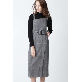 PINKY & DIANNE グレンチェックジャンパースカート その他 ワンピース,グレンチェック1