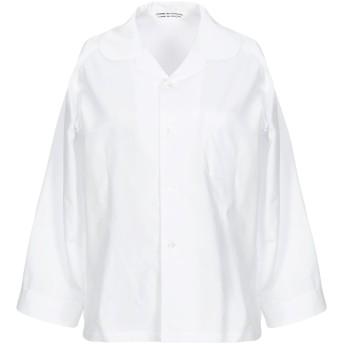 《セール開催中》COMME des GARONS レディース シャツ ホワイト M コットン 100%