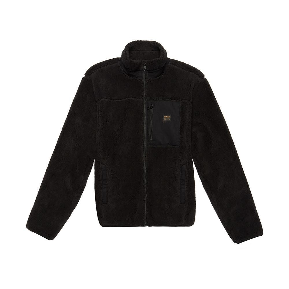 Deus Ex Machina Fletcher Fleece Jacket 外套-黑(男/女)