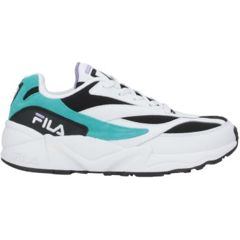 《セール開催中》FILA メンズ スニーカー&テニスシューズ(ローカット) ホワイト 40 再生革 / 紡績繊維