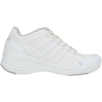 《セール開催中》FREDDY レディース スニーカー&テニスシューズ(ローカット) ホワイト 36 紡績繊維