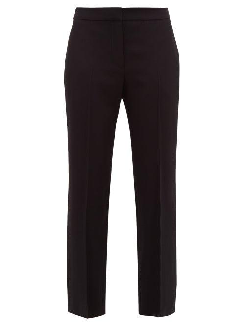 Alexander Mcqueen - Men's Cut Straight-leg Trousers - Womens - Black
