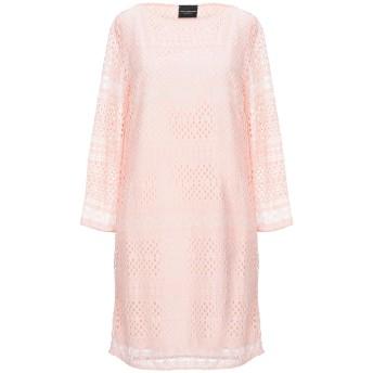 《セール開催中》ATOS LOMBARDINI レディース ミニワンピース&ドレス ピンク 38 コットン 65% / ナイロン 35% / ポリエステル