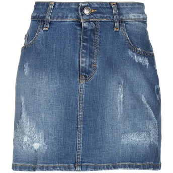《セール開催中》- - -ONE  ⧜ レディース デニムスカート ブルー 26 コットン 98% / ポリウレタン 2%