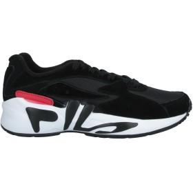 《セール開催中》FILA レディース スニーカー&テニスシューズ(ローカット) ブラック 5.5 革 / 紡績繊維