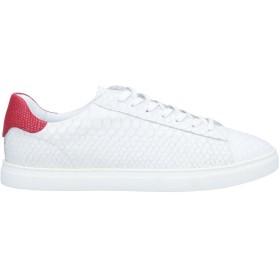 《期間限定セール開催中!》DSQUARED2 メンズ スニーカー&テニスシューズ(ローカット) ホワイト 40 革