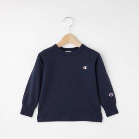 Dessin(Kids)(デッサン(キッズ))/Champion 刺繍入りロングTシャツ