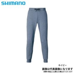 シマノ ライトスウェットパンツ ネイビーMサイズ WP-075S パンツ 釣り フィッシング ウェア アウトドア