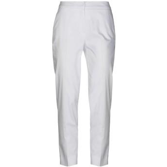 《セール開催中》SHAPE レディース パンツ ホワイト 40 コットン 97% / ポリウレタン 3%