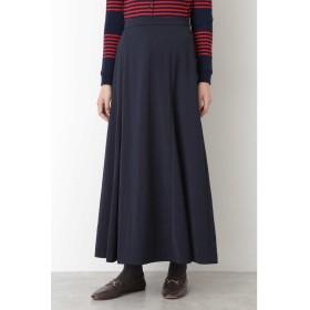 ◆起毛サテンスカート ネイビー