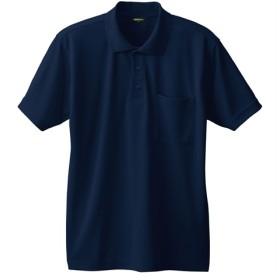 【豊富なカラー展開】半袖メッシュポロシャツ(胸ポケット付き) ポロシャツ, Tops, 上衣