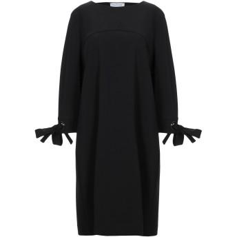 《セール開催中》ANNA RACHELE レディース ミニワンピース&ドレス ブラック 46 レーヨン 80% / ナイロン 14% / ポリウレタン 6%