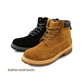靴 メンズ 本革スエードワーク ブーツ BJ-5126  25〜28cm ニッセン