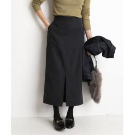 SLOBE IENA スエードライクタイトスカート◆ ブラック 36