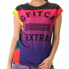 [マルイ] G-FIT レディース 軽量吸水速乾 フレンチスリーブT-シャツ フィットネスウェア スポーツウェア/ジーフィット(G-fit)
