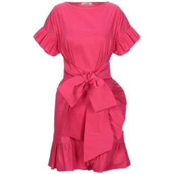 《セール開催中》LAB ANNA RACHELE レディース ミニワンピース&ドレス フューシャ 40 コットン 79% / ナイロン 18% / ポリウレタン 3%